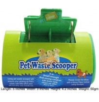 Pet Waste Scooper Green