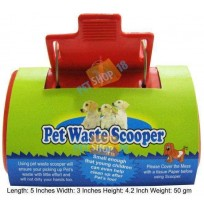 Pet Waste Scooper Red