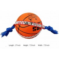 Super Dog Dog Toy Orange Action Ball For Dogs