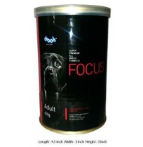Focus Dog Treats Adult Can 400 Gm