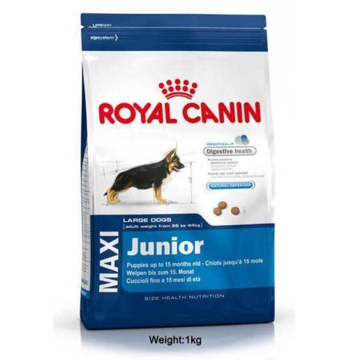 royal canin maxi junior 1kg dog buy at. Black Bedroom Furniture Sets. Home Design Ideas