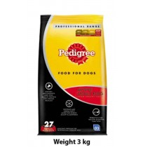 Pedigree Adult Active Dog 3kg