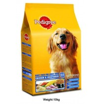 Pedigree Adult Chicken And Veg 10kg