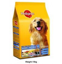 Pedigree Adult Chicken And Veg 15kg