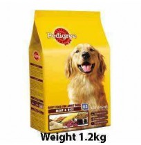 Pedigree Adult Meat And Rice 1.2kg