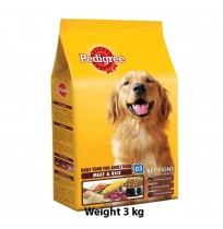 Pedigree Adult Meat And Rice 3kg