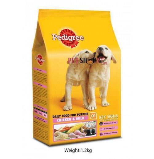 Pedigree Puppy Food Chicken And Milk 1.2 Kg