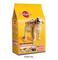 Pedigree Puppy Food Chicken And Milk 3 Kg