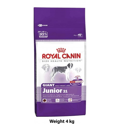 royal canin giant junior 4kg dog buy at. Black Bedroom Furniture Sets. Home Design Ideas