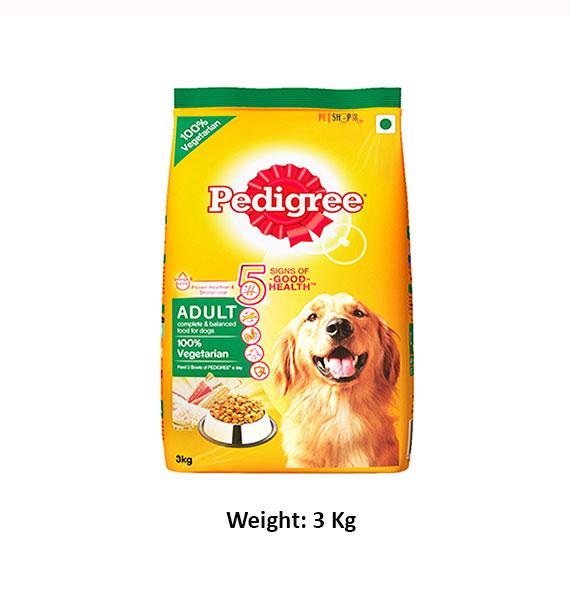 Pedigree Adult Chicken And Veg 3kg Dog Buy At Petshop18com