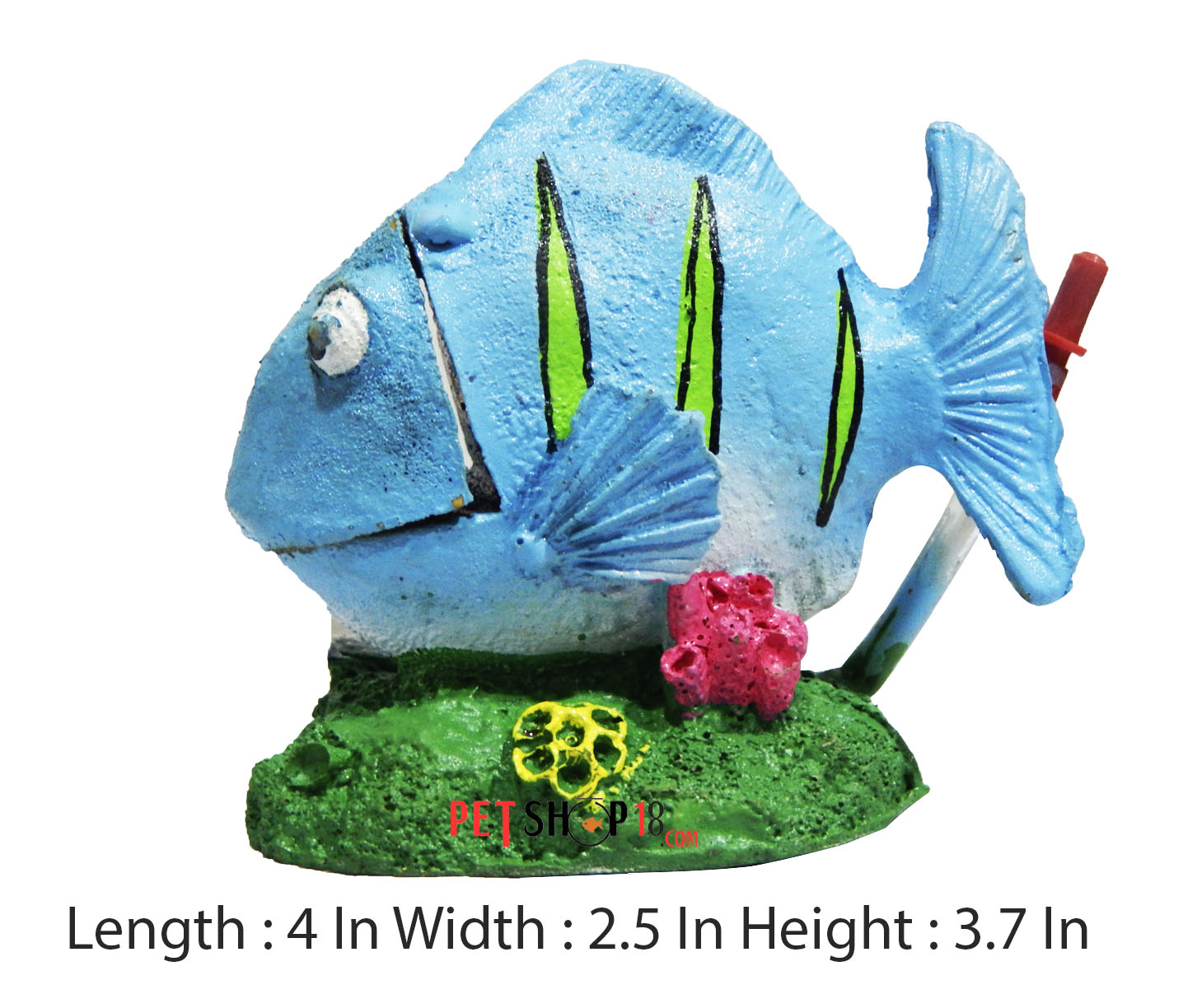 Fish aquarium online delhi - Blue Fish Aquarium Decor Small