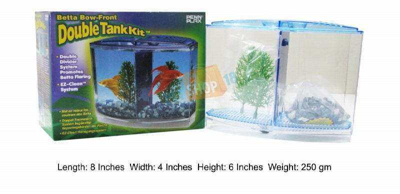 Dophin mini betta tank t 201 fishes buy at for Double fish tank
