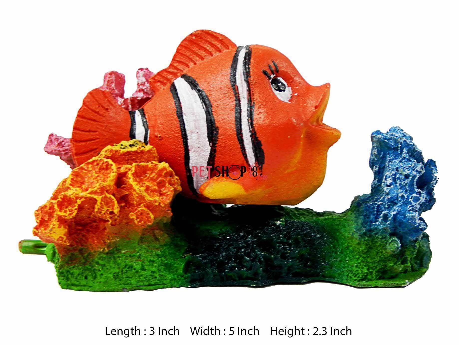 Fish aquarium in gurgaon - Nimo Rock Fish Aquarium Toy