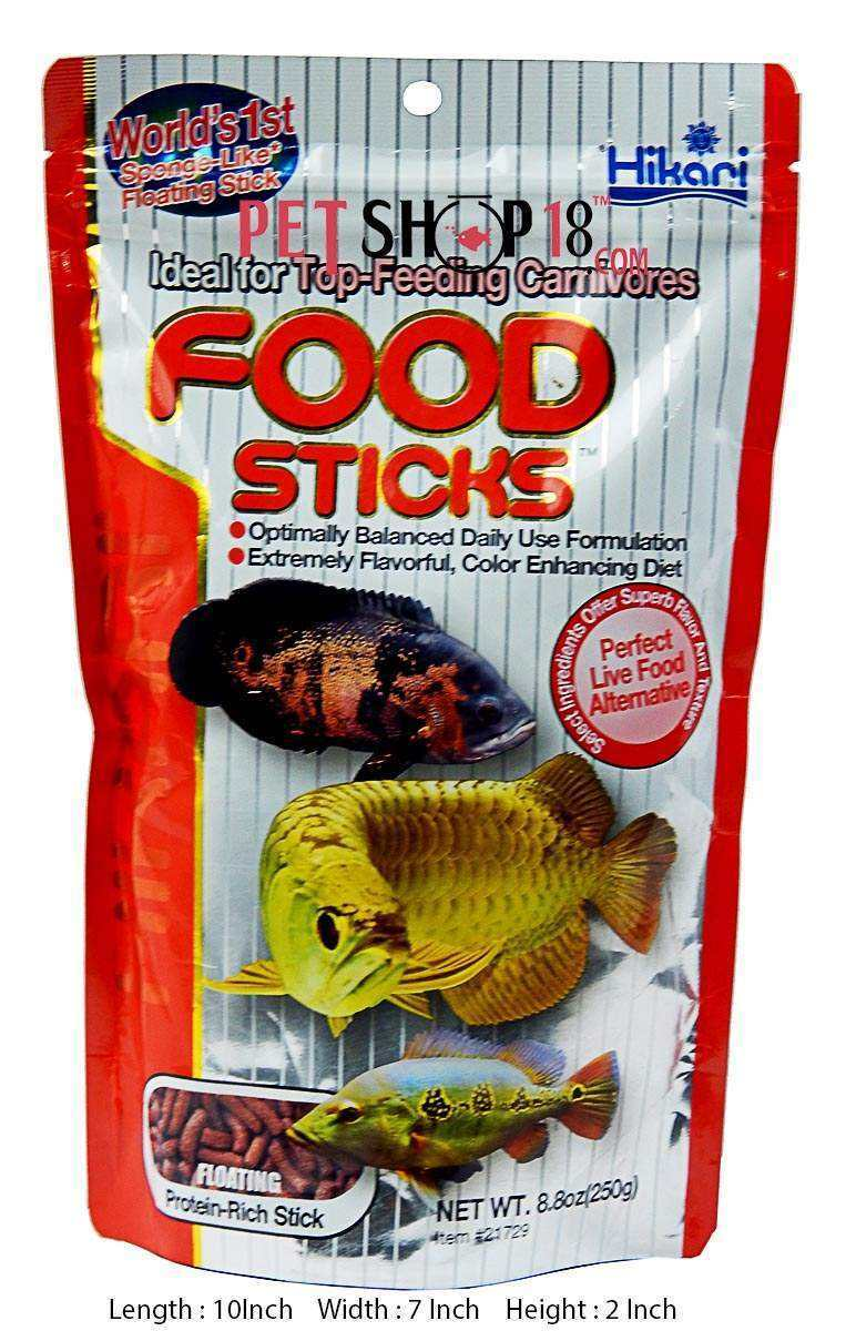 Fish aquarium in karnal - Hikari Fish Food Food Sticks Floating Fish Food 250gm