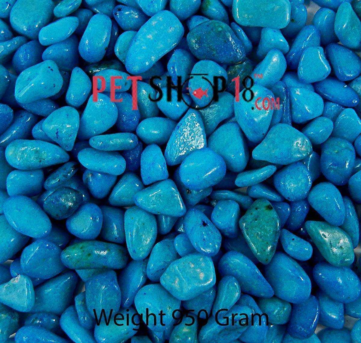 Fish aquarium in karnal - Sky Blue Aquarium Gravel Medium