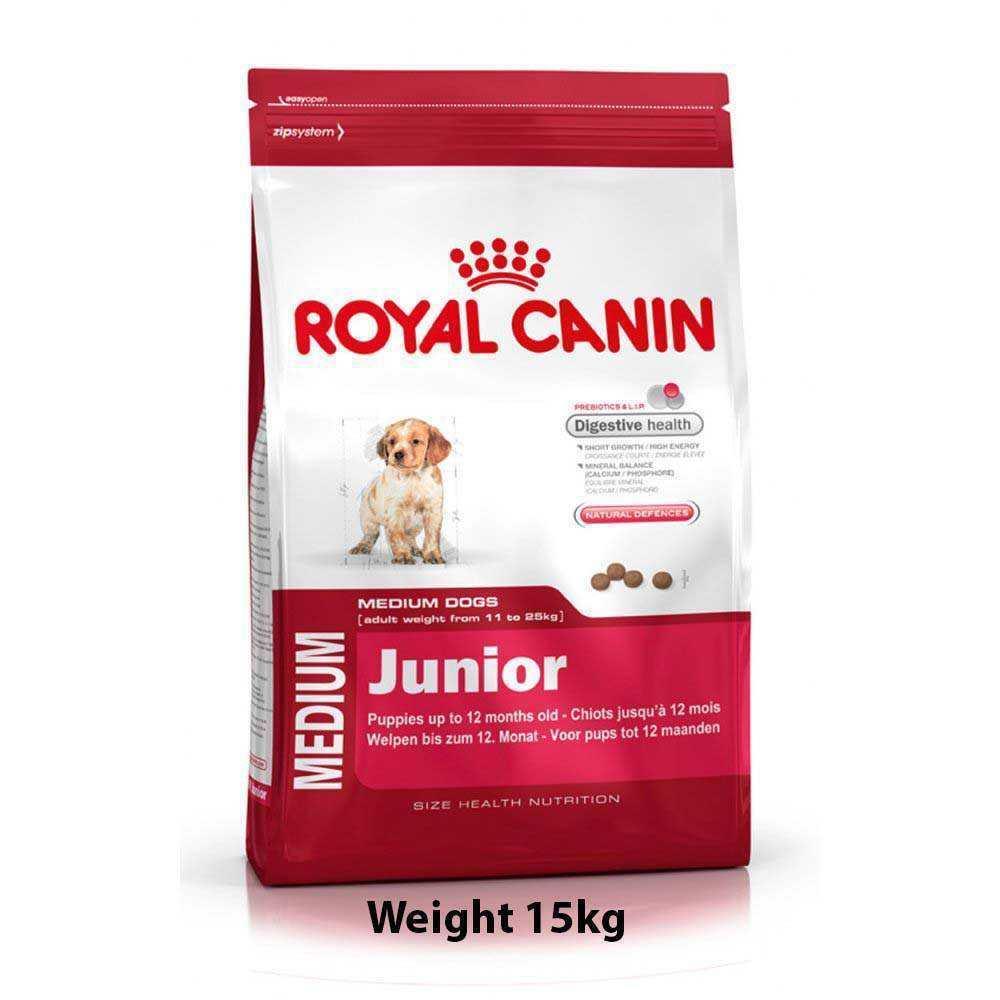 royal canin medium junior 4kg dog buy at. Black Bedroom Furniture Sets. Home Design Ideas