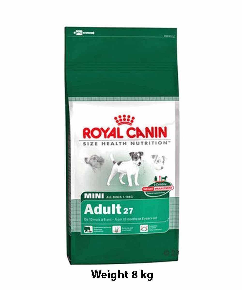 royal canin mini adult 0 8 kg dog buy at. Black Bedroom Furniture Sets. Home Design Ideas