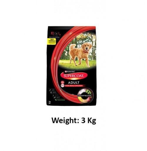 Purina Super Coat Adult Dog Food Chicken 3 Kg Petshop18.com