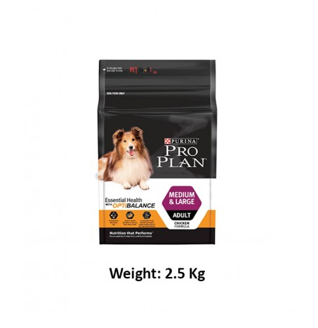 Purina Pro Plan Medium And Large Adult 2.5 Kg