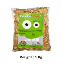 Pet A Pet Dog Treats Adult Veg Biscuit 1 Kg