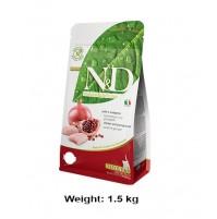 Farmina ND Kitten Food Chicken And Pomegranate Grain Free Formula 1.5 Kg