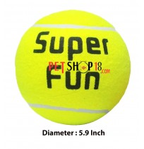 Super Dog Dog Toy Super Fun Extra Large Tennis Ball