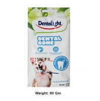 Dentalight Dog Treats Dental Bone Small 12 In 1 90 Gm