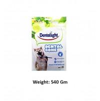 Dentalight Dog Treats Dental Bone Mini 60 Pc
