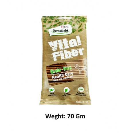 Dentalight Grain Free Vital Fiber Sticks 70 Gm
