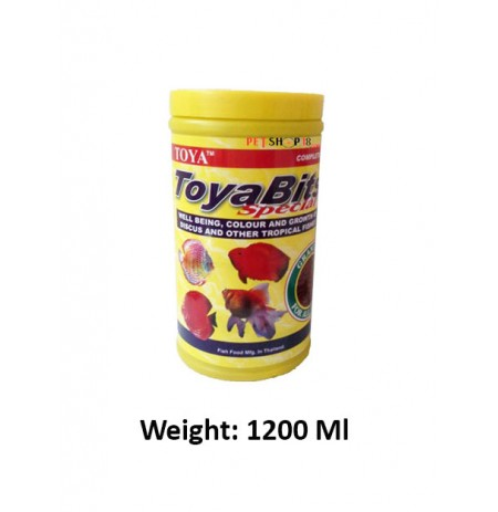 Toya Fish Food Bits Special Complete 1200 Ml