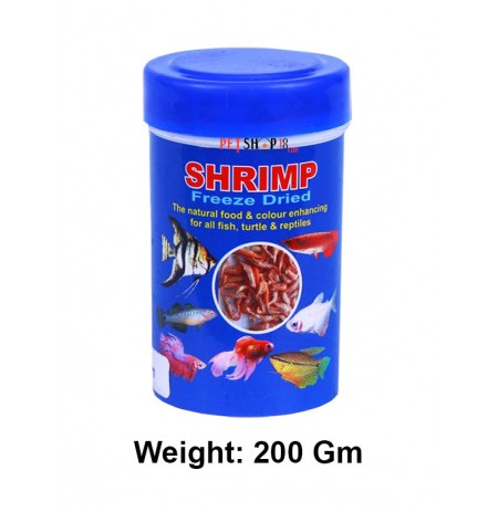 Toya Fish Food Shrimp Freeze Dried 200gm