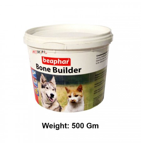 Beaphar Dog Supplements Bone Builder 500 Gm