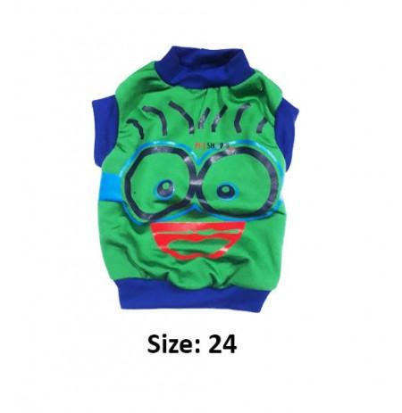 Super Dog Dog Winter T Shirt Size 24