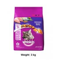 Whiskas Cat Food Mackerel Flavour 3kg
