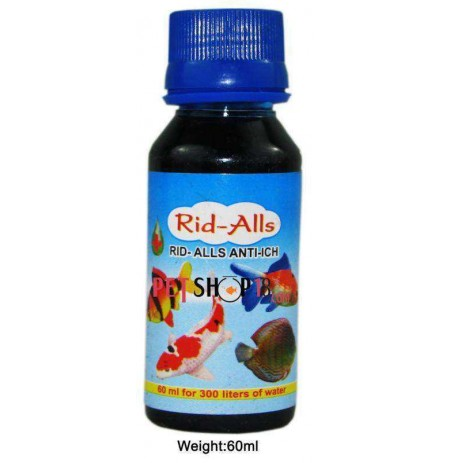 Rid All Fishes Med And Supplements Anti Itch 60 Ml