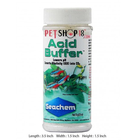 Seachem Fishes Med and Supplements Acid Buffer 70 gm