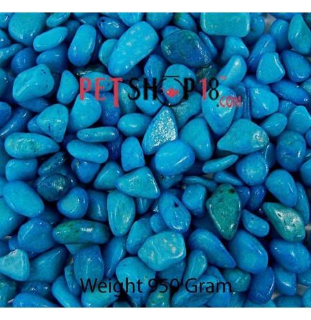 Sky Blue Aquarium Gravel Medium
